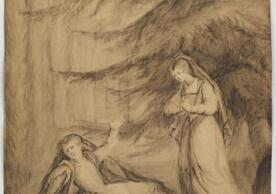 One of Lady Diana Beauclerk's drawings for The Mysterious Mother